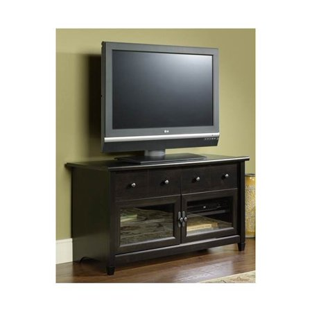 Edge Water 44 in. Panel TV Stand in Estate Black Finish