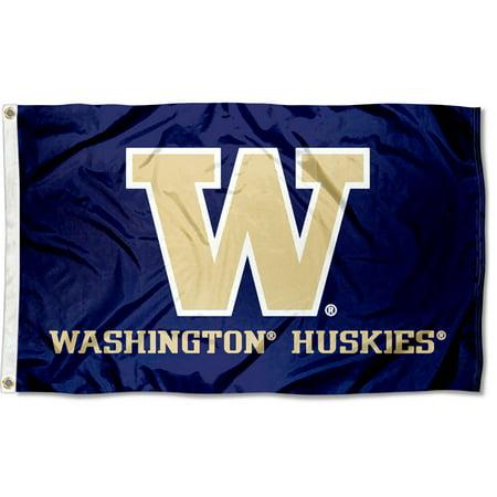 University of Washington Huskies Flag
