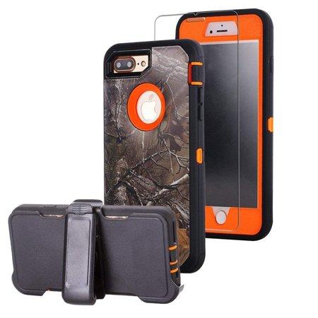 size 40 857e5 fc778 iPhone 7 Plus Case,iPhone 8 Plus Case, Heavy Duty Hybrid Defender ...