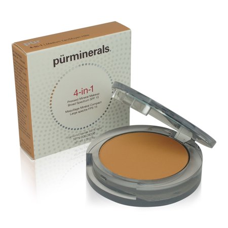 PUR 4 In 1 Pressed Mineral Makeup Medium Tan 0.28 oz.