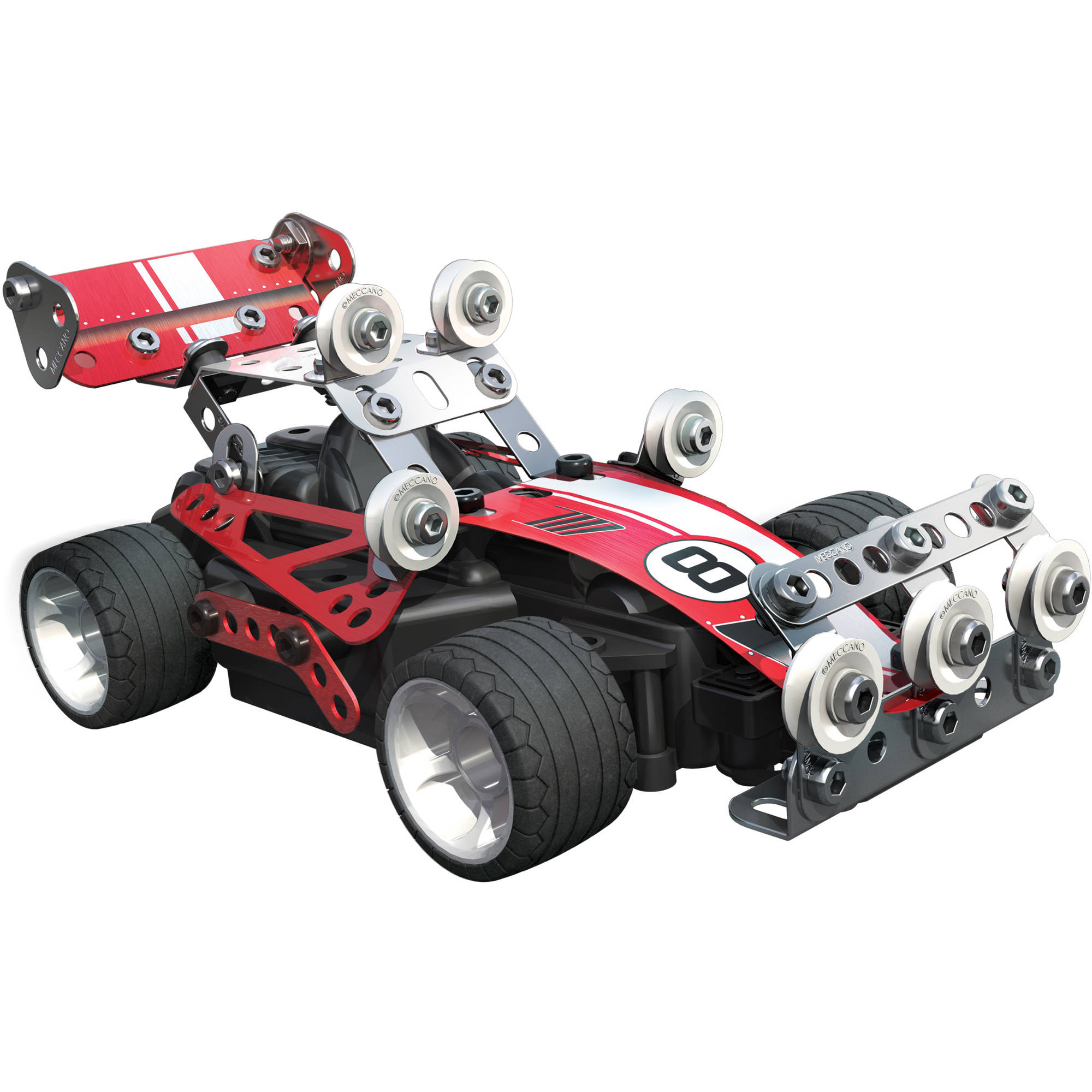 Meccano Erector Autocross Rc Model Set Toys Building Sets