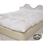Best Feather Beds - Feather Bed Cover With Zip Closure - Queen Review