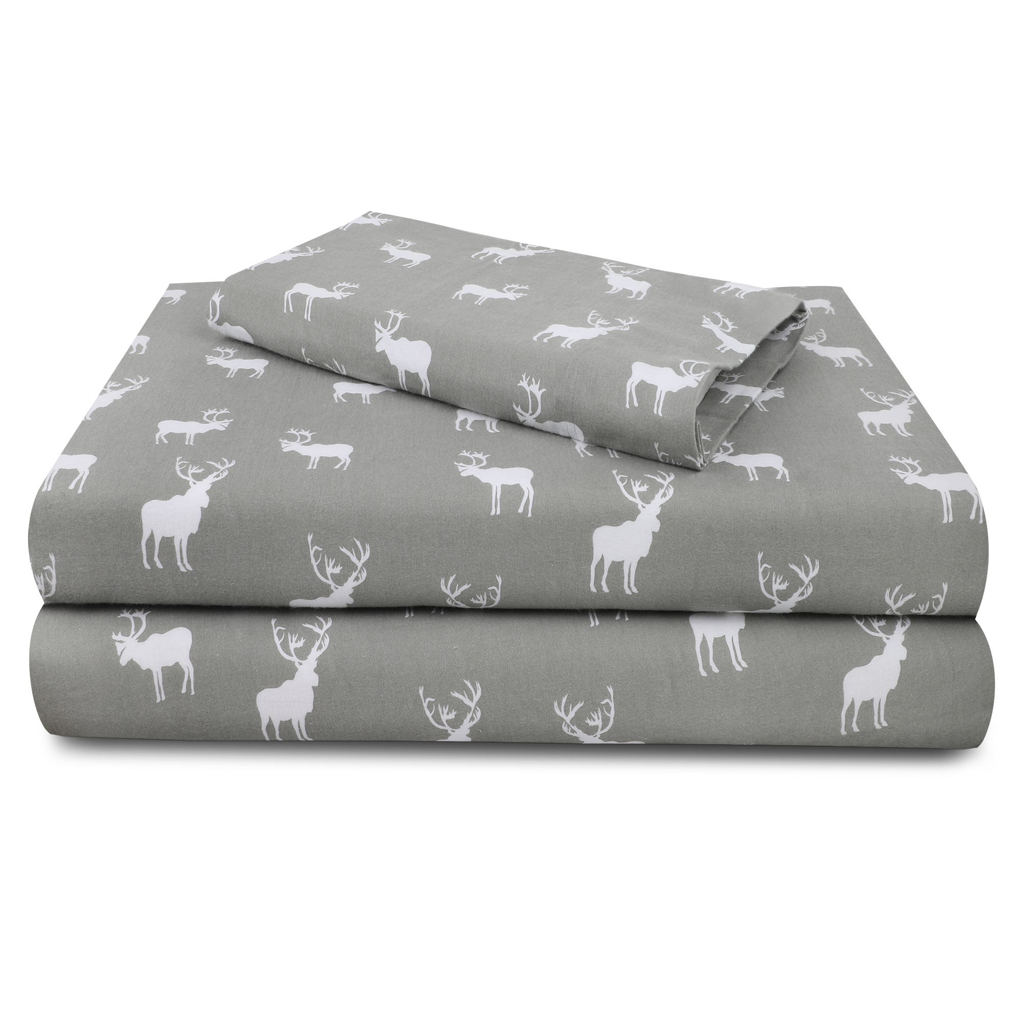 Cot Bed Cotton Flannelette Sheets Pack of 2