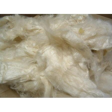 Organic Kapok Fill (2.5 lbs) for pillows, crafts, cushions, stuffing. Made in USA (Natural Kapok Pillows)