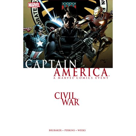 Civil War: Captain America - eBook