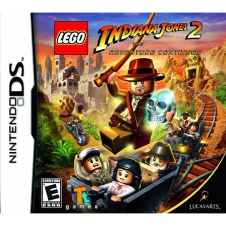 Disney Interactive Lego Indiana Jones 2 The Adventure Continues