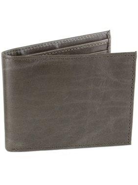 Mens Leather Wallet RFID Blocking Compact Multi Card Flip ID Bifold Hammer Anvil