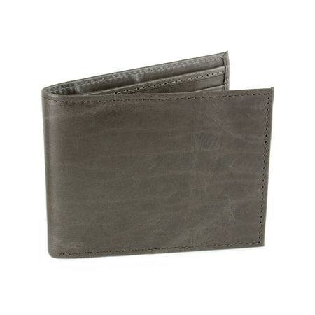 Mens Leather Wallet RFID Blocking Compact Multi Card Flip ID Bifold Hammer
