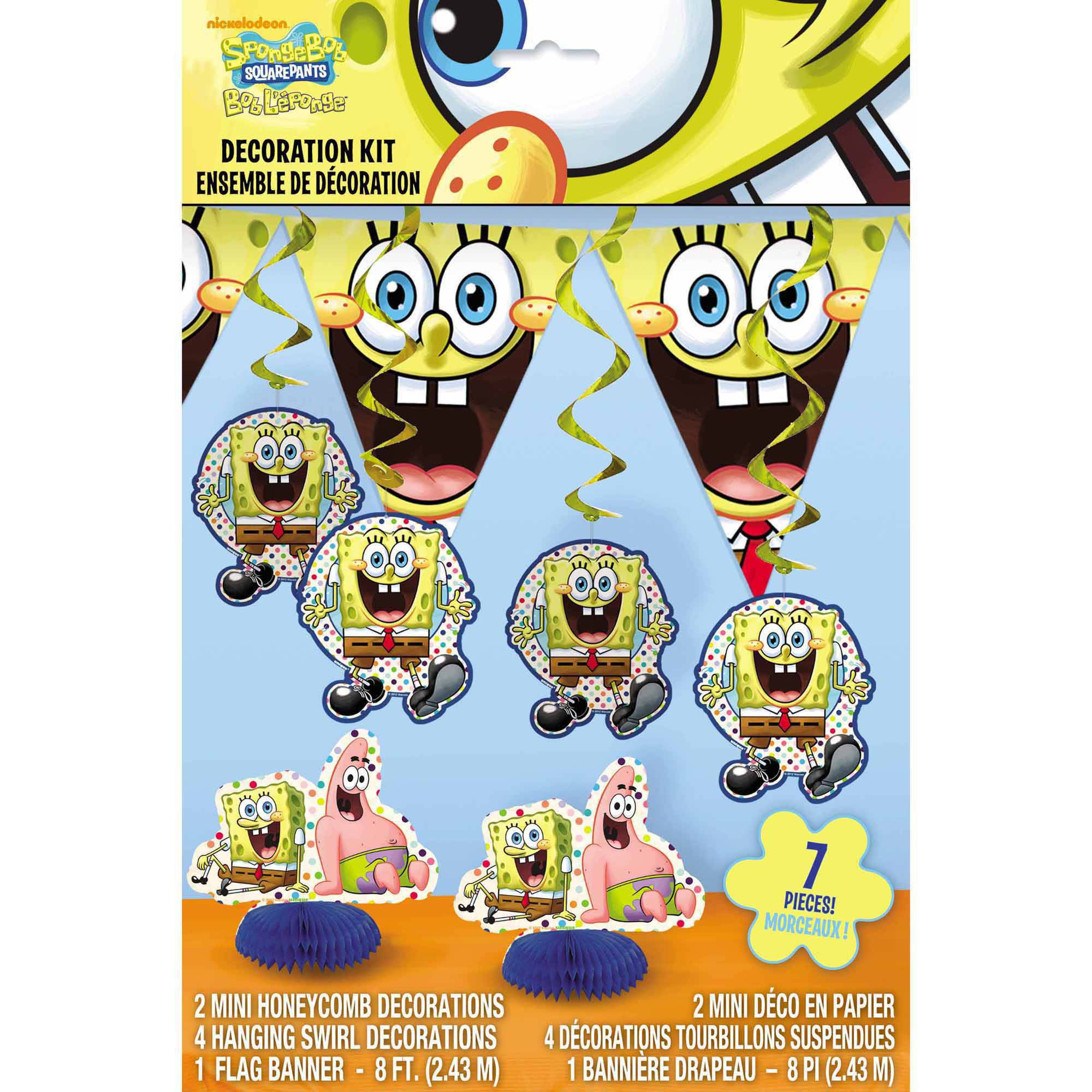 SpongeBob SquarePants Decorating Kit, 7pc