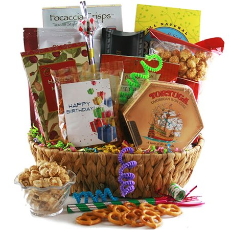 Gourmet Birthday Gift Basket