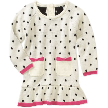 d0750eb7bd Healthtex - Infant Girl Sweater Dress - Walmart.com