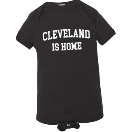 PleaseMeTees™ Baby Cleveland Ohio Is Home Born In From HQ