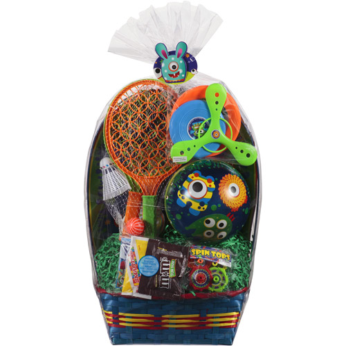 Blue Monster Ball Easter Basket
