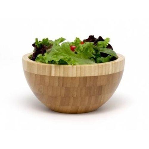 Lipper International Bamboo 2 Tone Bowl Small