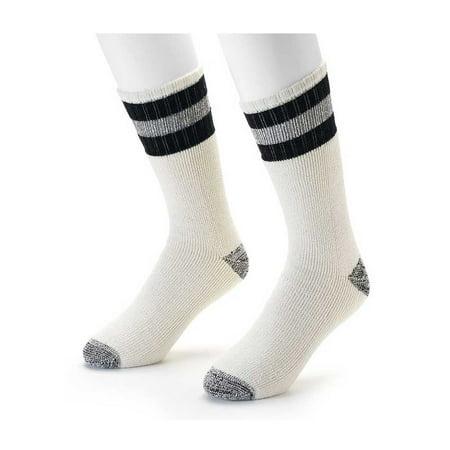 Croft & Barrow Cotton Blend Boot Socks - Cold Weather Comfort - 2
