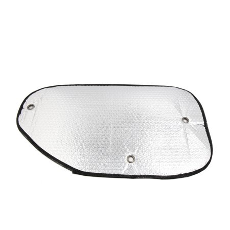 2 Pcs Aluminium Foil Side Rear Window Sun Shade Shield Visor Cover for Auto
