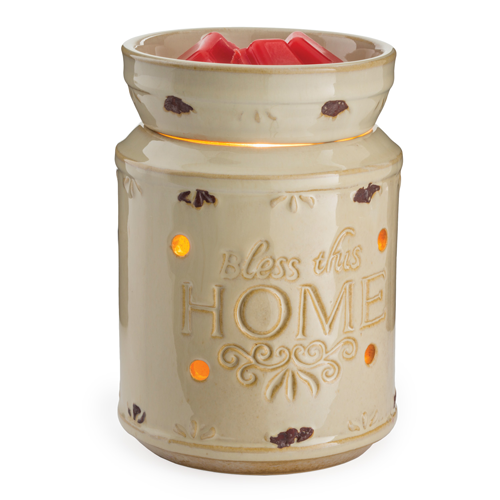 Candle Warmers Etc. Bless This Home Illumination Fragrance Warmer