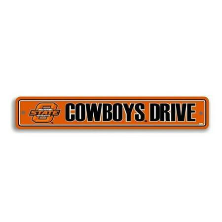Ncaa Oklahoma State Cowboys Street Sign