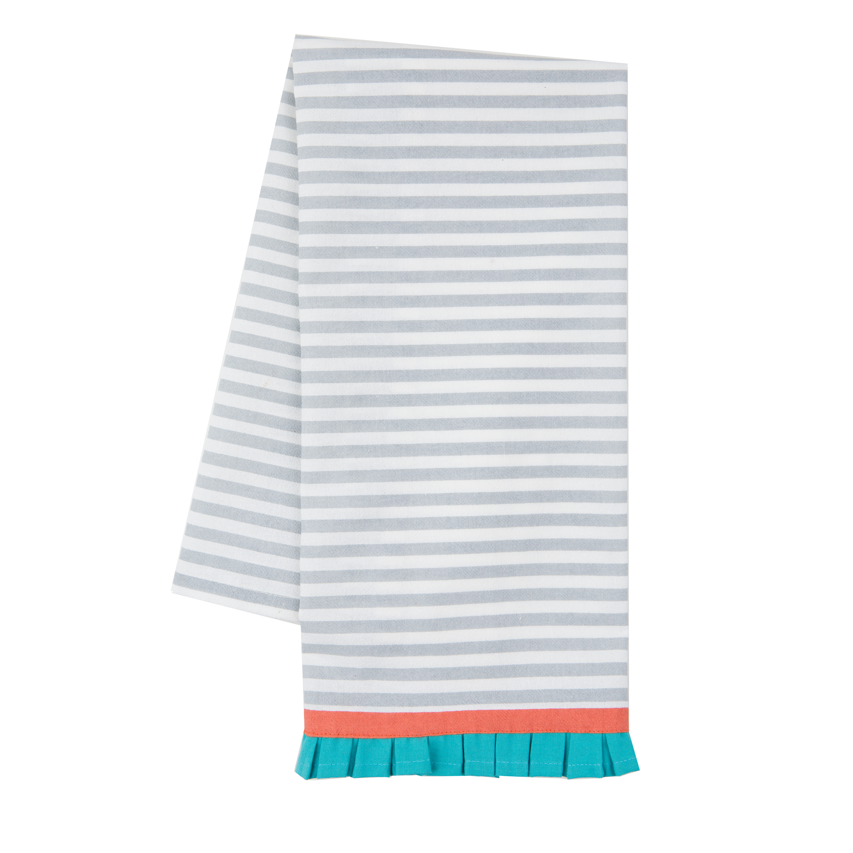 Better Homes and Gardens Flour Sack Kitchen Towel Stripe Print