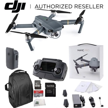DJI Mavic Pro Collapsible Quadcopter Starters Carrying Case Bundle