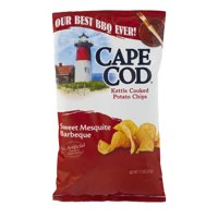 Cape Cod Sweet Mesquite Barbecue Kettle Cooked Potato Chips, 7.5 Oz.