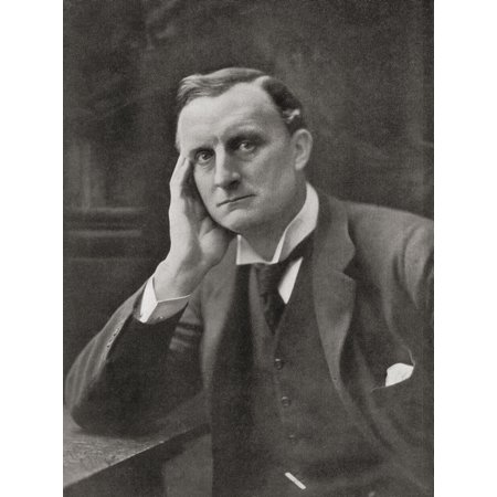 Sir Edward Grey 1St Viscount Grey Of Fallodon 1862  Canvas Art - Ken Welsh  Design Pics (13 x 17) Dots Grey Design