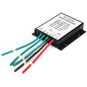 12/24V 400W Waterproof Wind Turbine Controller Over Voltage Speed Protection Wind Turbine Generator Charge Controller with LED Indicator Good Heat Dissipation