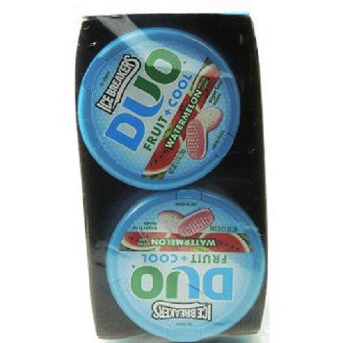 Product Of Ice Breakers Duo, Mints Watermelon - Can, Count 8 (1.3 oz) - Mints / Grab Varieties & Flavors