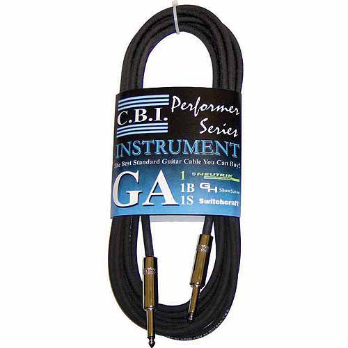 CBI 15' Guitar Instrument Cable