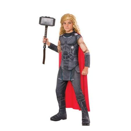 Thor Child Costume, Large - Size 12-14