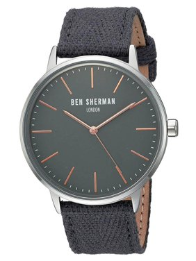 Product Image Ben Sherman WB009EA Men s Portobello Social Grey Dial Quartz  Watch c689290266b