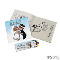 Fun Express FX IN-12/3790 Individually Packaged Children's Wedding Activity Sets (Pack of 12)