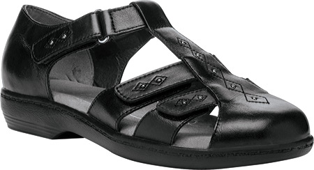 Propet Heather Women's Comfort Sandals Widths Black by