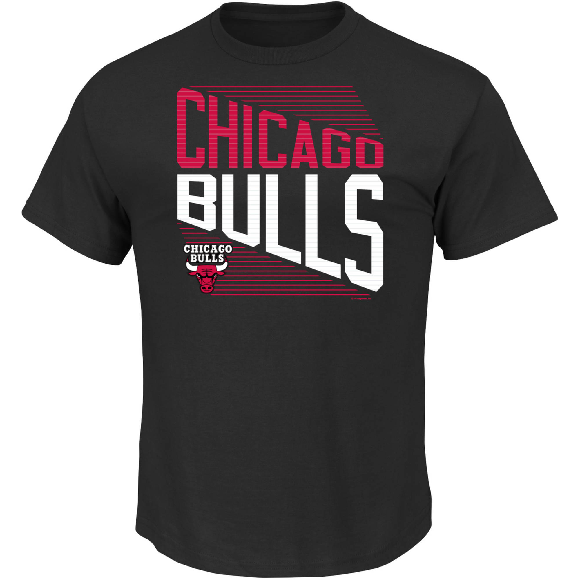 NBA Chicago Bulls Men's Short Sleeve Basic Tee