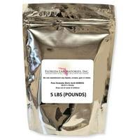 99.9% Fine Granular Powder Boric Acid, 5 Lbs (POUNDS) Create Your Own Solution