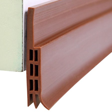 New Under Door Draft Stopper Weather Stripping Energy