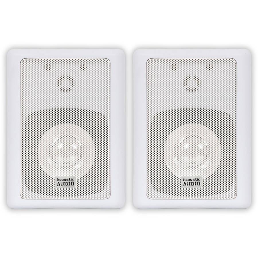 Acoustic Audio 151W Mountable Indoor/Outdoor Speakers
