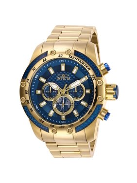 Invicta 28659 Mens Speedway Quartz Chronograph Blue Dial Watch with 182 mm
