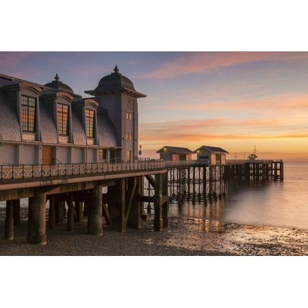Penarth Pier, Near Cardiff, Vale of Glamorgan, Wales, United Kingdom, Europe Print Wall Art By Billy (Cardiff Wall)