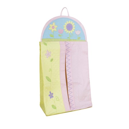 Collection Baby Diaper Stacker - Gund Flowered Hanging Diaper Stacker Storage