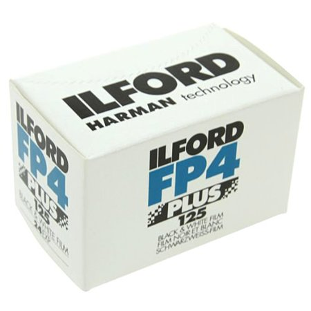 Ilford FP4 Plus, Black and White Print Film, 135 (35 mm), ISO 125, 24 Exposures - Individual M&m Colors