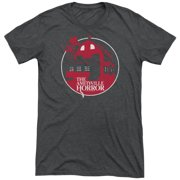 Amityville Horror Red House Mens Tri-Blend Short Sleeve Shirt