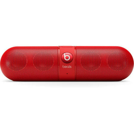 Beats by Dr  Dre Pill 2 0 Speaker, Assorted Colors, Red