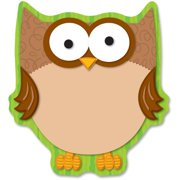 Carson-Dellosa Full-color Owl Notepads, 50 / Pack (Quantity)