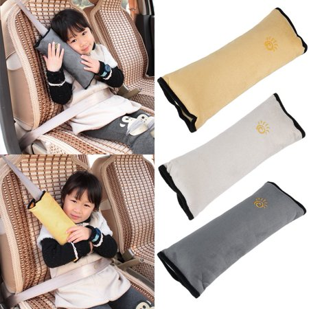 Cushion Vehicle Car Seat Belt Baby Kid Shoulder Pad Cover Pillow Head Support