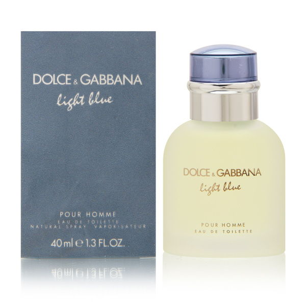 Light Blue by Dolce & Gabbana for Men 1.3 oz Eau de Toilette Spray
