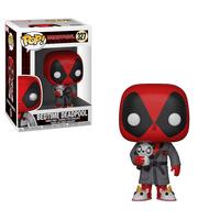 Funko POP Marvel: Deadpool Playtime - Deadpool in Robe