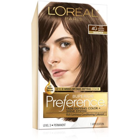 Superior Preference FadeDefying Color  4G Dark Golden Brown  Warmer By L