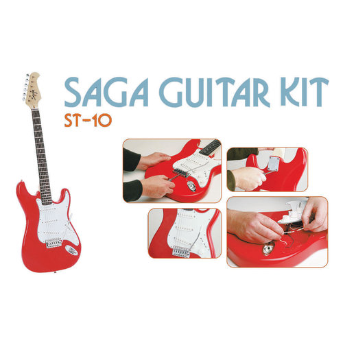 Saga ST-10 Electric Guitar Kit, S Style