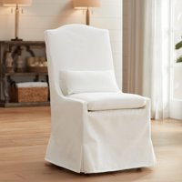 55 Downing Street Juliete Peyton Pearl Slipcover Dining Chair